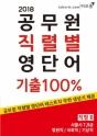 2018 공무원 직렬별 영단어 기출100% 직렬 B